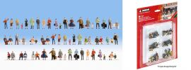 NOCH 38401 Mega-Spar-Set Figuren 60 Stück Fertigmodelle Spur N online kaufen