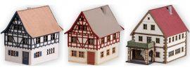 NOCH 44310 Dorf-Set 3-teilig | Gebäude Bausatz Spur Z online kaufen