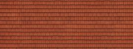 NOCH 56670 3D-Kartonplatte Dachziegel rot 250mm x 125mm Anlagengestaltung Spur H0 online kaufen