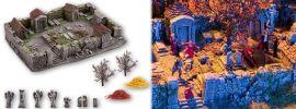 NOCH 58585 Grusel-Friedhof Fertigmodell 1:87 online kaufen