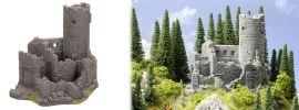 NOCH 58605 Burgruine aus Struktur-Hartschaum Fertigmodell 1:87 online kaufen