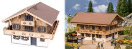 NOCH 66405 Ferienpension Edelweiss LaserCut Bausatz Spur H0 online kaufen