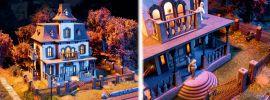 NOCH 66990 Geisterhaus mit micro-sound und Lichteffekten LaserCut Bausatz 1:87 kaufen