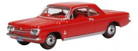 OXFORD 201133358 Chevrolet Corvair rot | Automodell 1:87 online kaufen