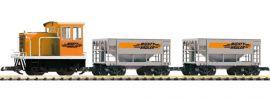 PIKO 37150 Start-Set GE-25Ton Güterzug Mighty Hauler | analog | Spur G online kaufen