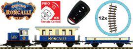 PIKO 37154 Start-Set Güterzug Roncalli R/C | Batteriebetrieb | Spur G online kaufen