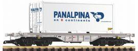 PIKO 37721 Flachwagen mit 20 Fuss Container Panalpina Spur G online kaufen