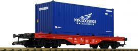 PIKO 37726 Flachwagen mit Container DB AG Spur G online kaufen