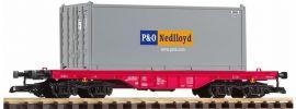 PIKO 37727 Flachwagen mit Container der NS Spur G online kaufen