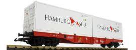 PIKO 37750 Containertragwagen Hamburg Süd DB AG | Spur G online kaufen