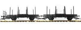 PIKO 37780 Drehschemelwagen-Set 2-tlg. DR | Spur G online kaufen