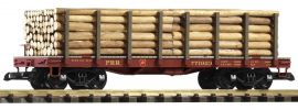 PIKO 38720 Rungenwagen mit Holzladung | PRR | Spur G online kaufen