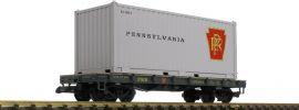 PIKO 38733 Containerwagen PRR | Spur G online kaufen
