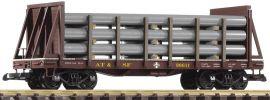 PIKO 38738 Rungenwagen mit Rohrladung | SF | Spur G online kaufen