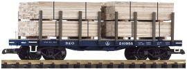 PIKO 38741 Rungenwagen mit Ladung B&O | Spur G online kaufen