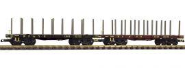 PIKO 38743 Rungenwagen WP&YR 2er Pack | Spur G online kaufen
