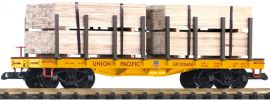 PIKO 38757 Rungenwagen mit Holz-Ladung UP | Spur G online kaufen