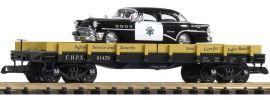 PIKO 38760 Autotransportwagen mit CHP Cruiser | Spur G online kaufen
