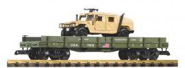PIKO 38764 Autotransportwagen + 1 Diecast Auto (Humvee) | Spur G online kaufen