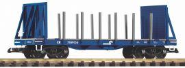 PIKO 38766 Rungenwagen D&RGW mit Stirnwänden | Spur G online kaufen