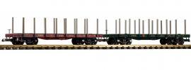 PIKO 38770 2-tlg. Set Rungenwagen PRR | Spur G online kaufen