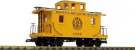 PIKO 38833 Güterwagen gelb | D+RGW | Spur G online kaufen