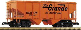 PIKO 38869 Geschlossener Schüttgutwagen | DRGW | Spur G online kaufen