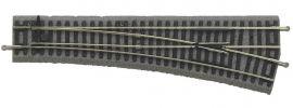 PIKO 55421 Weiche WR rechts mit Bettung | A-Gleis Spur H0 online kaufen