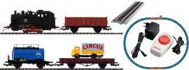 PIKO 57113 Start-Set Dampflok mit Güterzug DB | DC analog | Spur H0 online kaufen