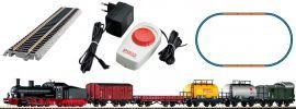 PIKO 57123 Start-Set Dampflok G7 mit Güterzug DB | DC analog | Spur H0 online kaufen