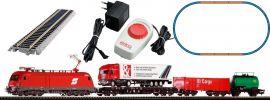 PIKO 57177 Start-Set E-Lok Taurus mit Güterzug ÖBB | DC analog | Spur H0 online kaufen