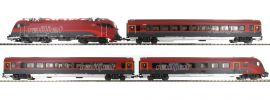 PIKO 58131 Zugset Railjet Rh1216 + 3 Wagen ÖBB | DC analog | Spur H0 online kaufen