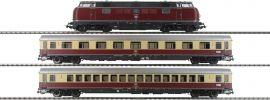 PIKO 58142 Zug-Set Diesellok BR 221 TEE Merkur DB | DCC-Sound | Spur H0 online kaufen