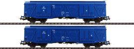 PIKO 58375 2er Set Großraumgüterwagen 401Ka PKP Cargo | Spur H0 online kaufen