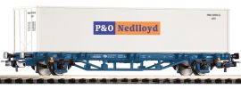 PIKO 58740 Containertragwagen Lgs579 Nedlloyd | MAV | DC | Spur H0 online kaufen