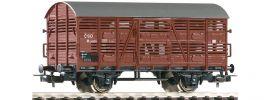 PIKO 58901 Verschlagwagen M Pro prepravu zvirat CSD | DC | Spur H0 online kaufen