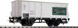 PIKO 58948 Gedeckter Güterwagen G02 Gösser Bier ÖBB | DC | Spur H0 online kaufen