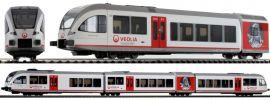 PIKO 59332 Dieseltriebwagen Stadler GTW 2/8 Veolia Digital AC-Version Spur H0 online kaufen