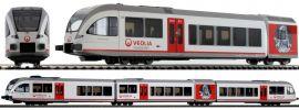 PIKO 59532 Dieseltriebwagen Stadler GTW 2/8 Veolia | DC analog | Spur H0 online kaufen