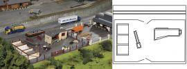 PIKO 61153 Bauhof Neustadt | Bausatz Spur H0 online kaufen