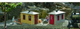PIKO 62718 2x Gleisbauhütten | Fertigmodell Spur G online kaufen
