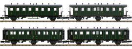 PIKO 94343 Personenwagen-Set 4-tlg. 2./3.Kl. SBB | Spur N online kaufen
