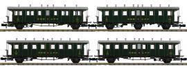 PIKO 94345 Personenwagen-Set 4-tlg. SBB | Spur N online kaufen