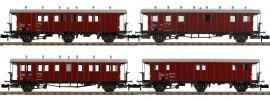 PIKO 94346 Bauzugwagen-Set 4-tlg. SBB | Spur N online kaufen