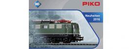 PIKO 99516 Neuheiten Prospekt 2016 Spur H0 online kaufen