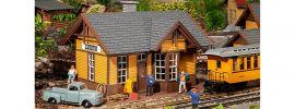 POLA 330850 Amerikanischer Bahnhof Silverton | Gebäude Bausatz Spur G online kaufen