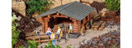 POLA 331052 Grillhütte mit Grillstelle | Bausatz Spur G online kaufen