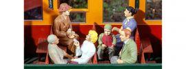 POLA 331502 Sitzende Waggon-Reisende   6 Stück   Figuren Spur G online kaufen