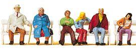 Preiser 10027 Paare auf Bänken | Figuren Spur H0 online kaufen