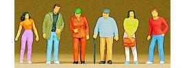 Preiser 10117 Passanten 6 Figuren Fertigmodell 1:87 online kaufen